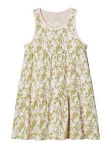 Bilde av Name it, Nmfvigga lyserosa kjole m/ blomster