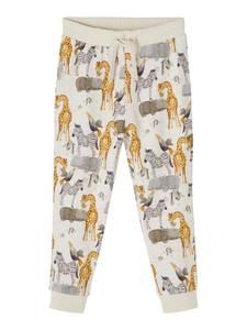 Bilde av Name it, Nmmjelix beige bukse med dyr