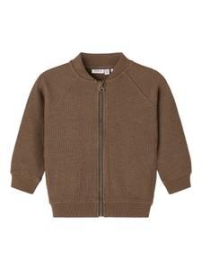 Bilde av Name it, Nmmdion brun ribbet jakke
