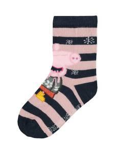 Bilde av Name it, Nmfpeppapig stripete sokker